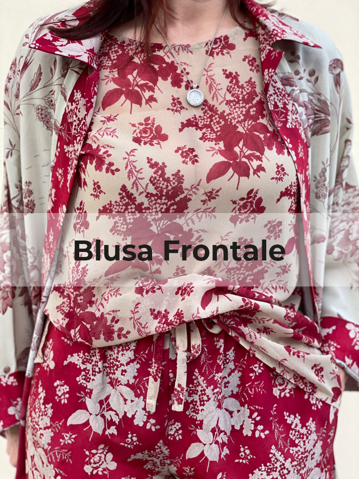 Blusa frontale