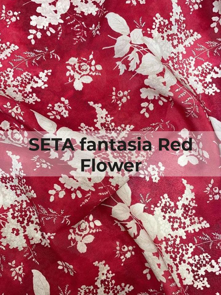 SETA fantasia Red Flower